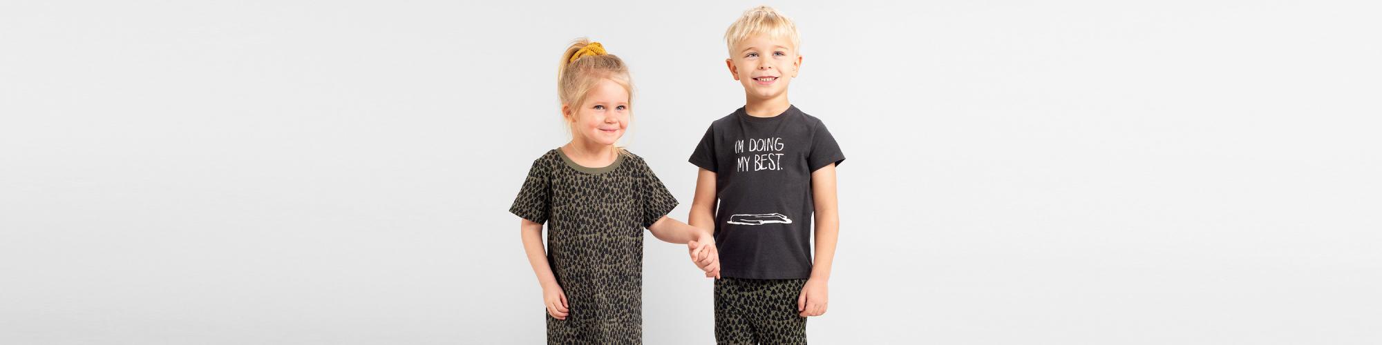 T-shirts för baby och barn