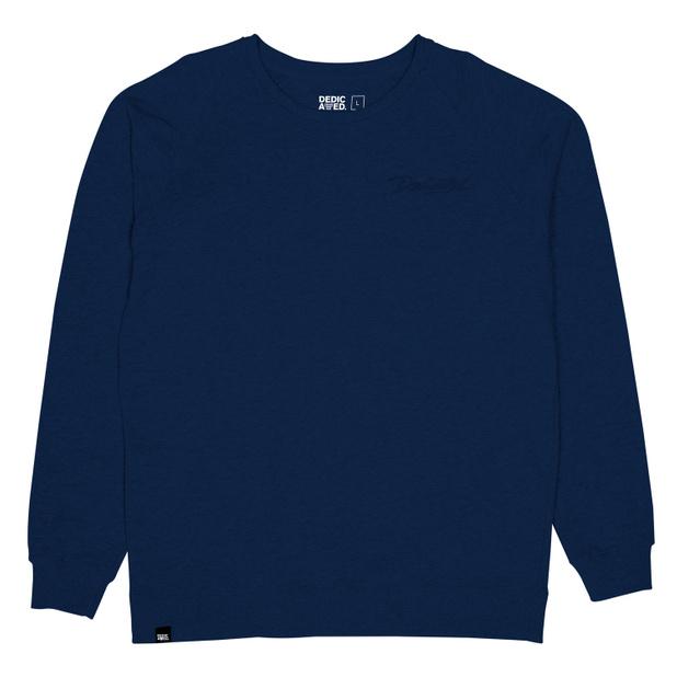 Malmoe Sweatshirt Script Estate Blue