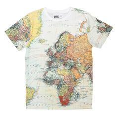 T-shirt Stockholm AO Maps