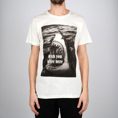 T-shirt Stockholm Wish You Were Here Off-White