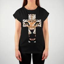 T-shirt Visby Leopard Cross