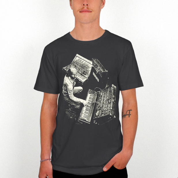 T-shirt Stockholm Synth Master