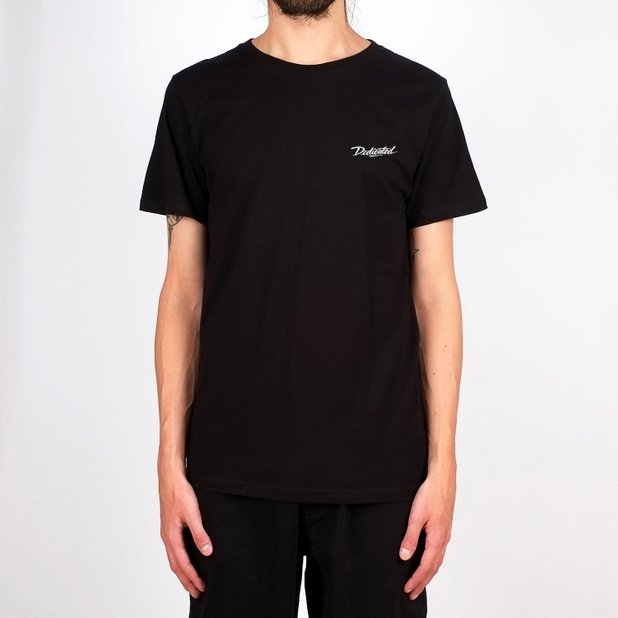 T-shirt Stockholm Dedicated Script Black