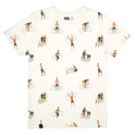 T-shirt Stockholm Bike People Off-White