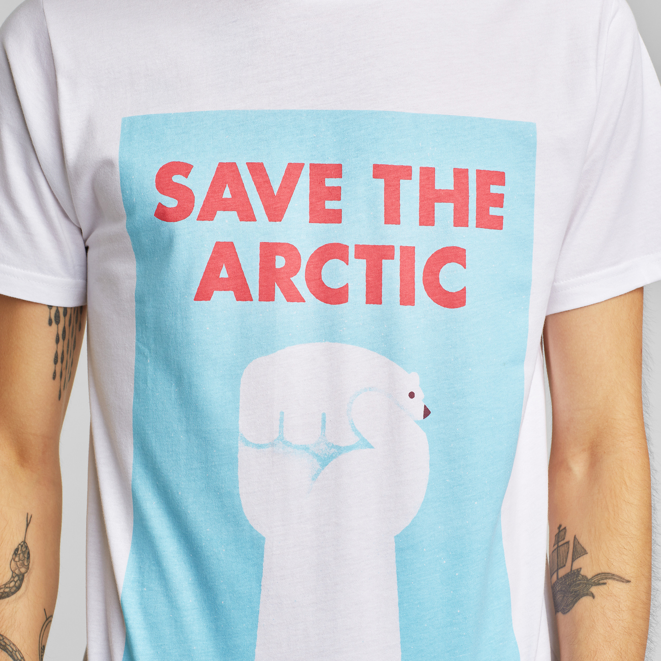 T-shirt Stockholm Save the Arctic