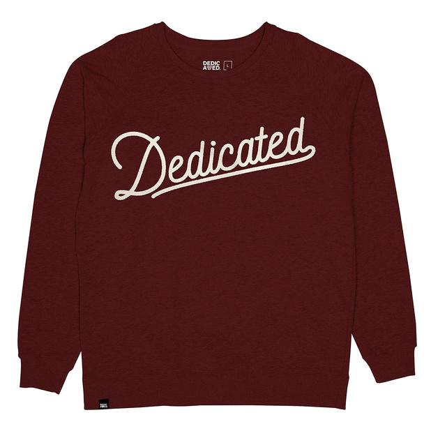 Sweatshirt Dedicated Retro Script
