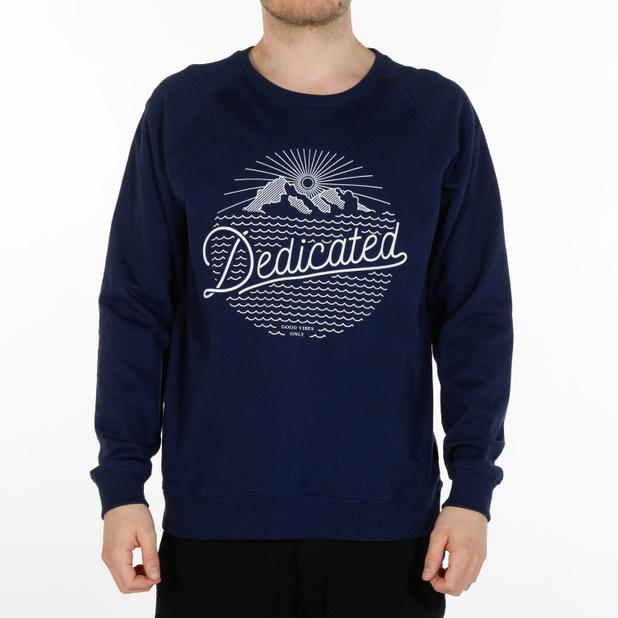 Sweatshirt Dedicated Mountain Script