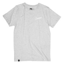 T-shirt Stockholm Mountain Script Grey Melange