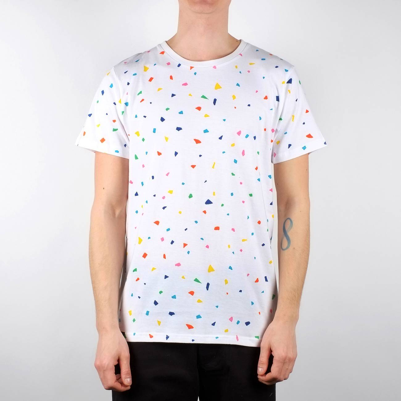 Stockholm T-shirt Confetti