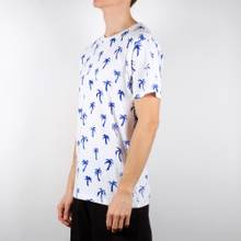 Stockholm T-shirt Painted Palms White