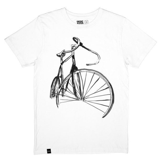 T-shirt Stockholm Sketch Bike