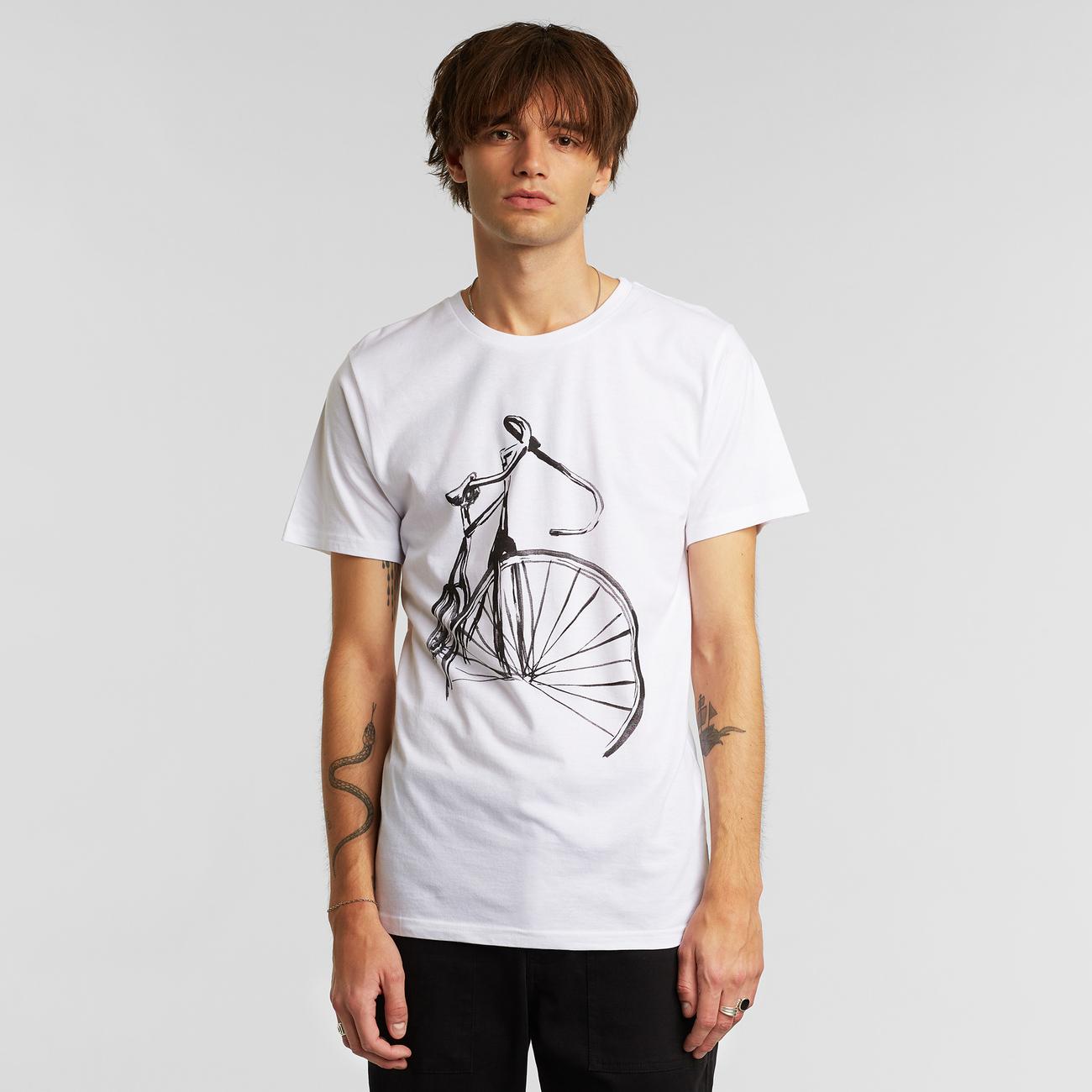 T-shirt Stockholm Sketch Bike