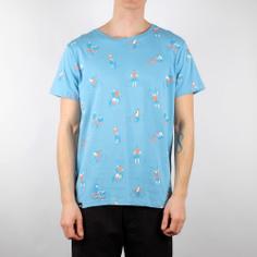 T-shirt Stockholm Bike People Powder Blue