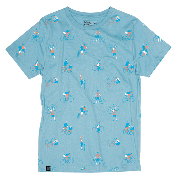 T-shirt Stockholm Bike People Powder Blue