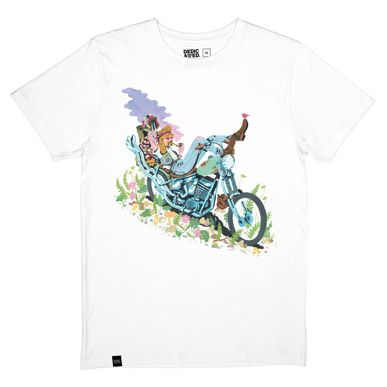 Stockholm T-shirt Ride Easy