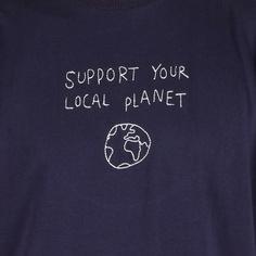 T-shirt Stockholm Local Planet