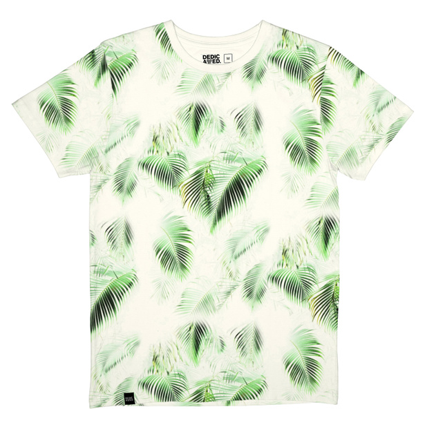 Stockholm T-shirt Bright Leaves