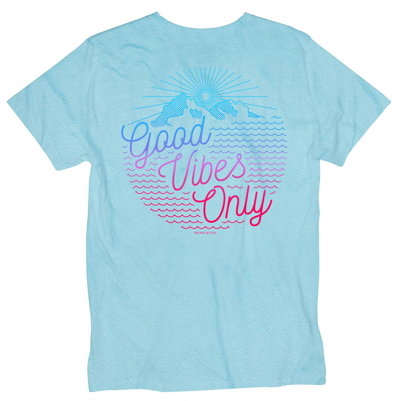 Stockholm T-shirt Outdoor Vibes Powder Blue