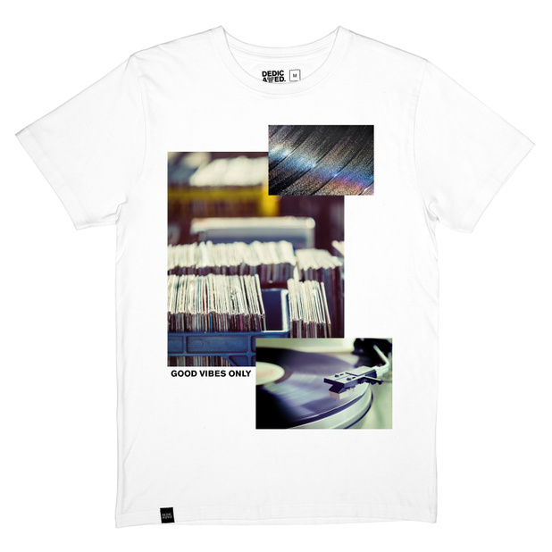 Stockholm T-shirt Vinyl Collage
