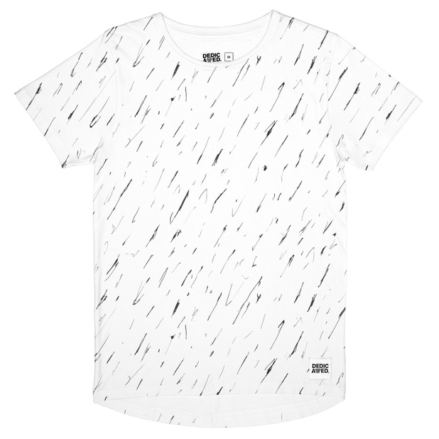Bergen T-shirt Scribble Pattern