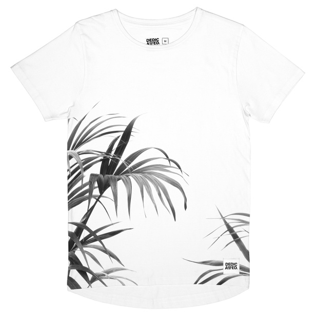 Bergen T-shirt Jungle Leaves