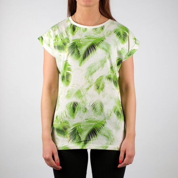 Visby T-shirt Bright Leaves