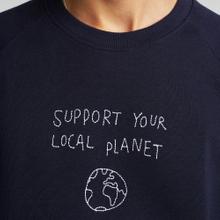 Sweatshirt Malmoe Local Planet Navy