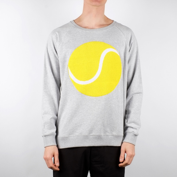 Malmoe Sweatshirt Tennis Ball Chenille