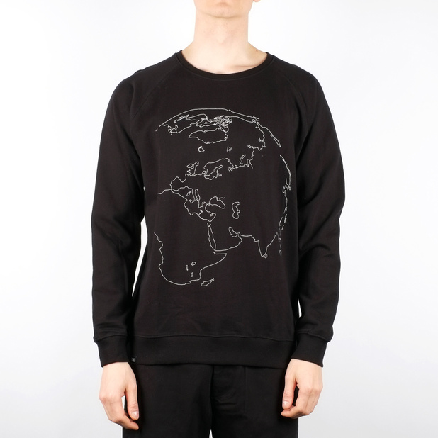 Malmoe Sweatshirt Earth Embroidery