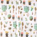 Sandefjord kortärmad skjorta Cactus