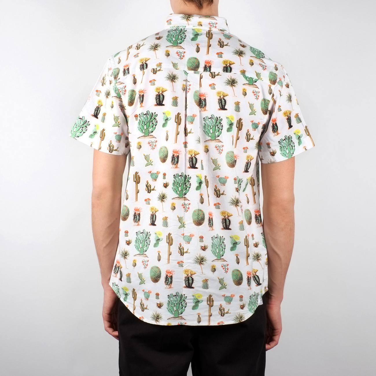 Sandefjord Short Sleeve Shirt Cactus