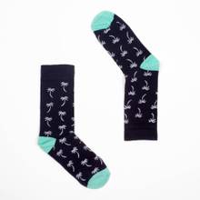 Socks Sigtuna Palms Navy