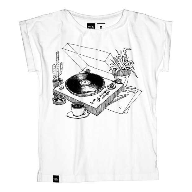 Visby T-shirt Coffee Vinyl