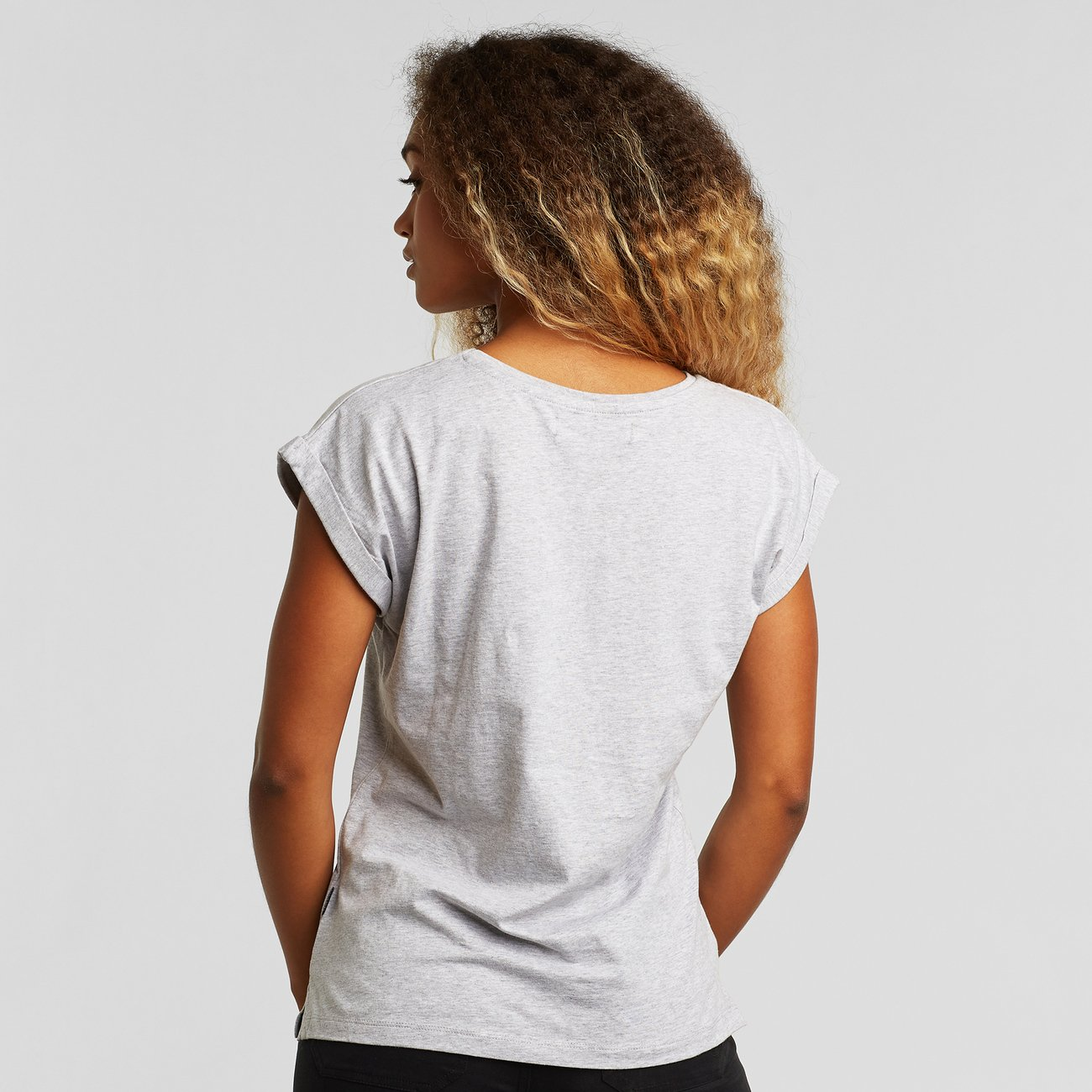 T-shirt Visby Base Grey Melange