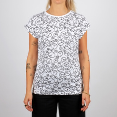 Visby T-shirt Peace Pattern