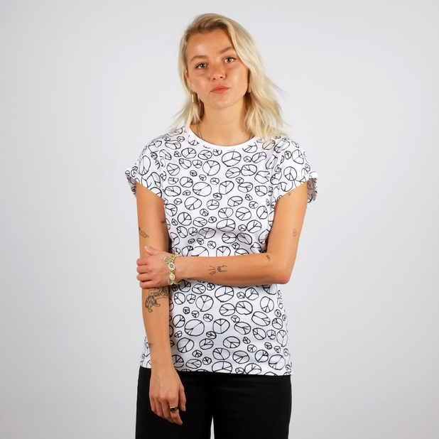 T-shirt Visby Peace Pattern