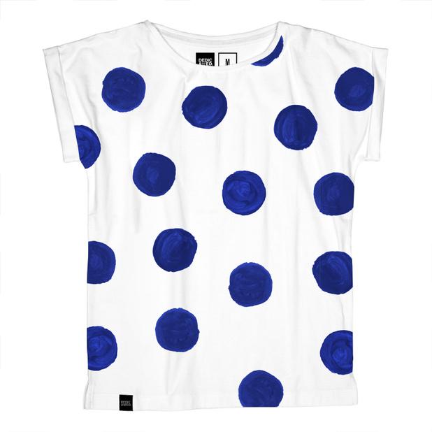 Visby T-shirt Big Dots