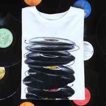 Stockholm T-shirt Vinyl Spin