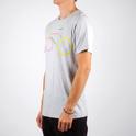 T-shirt Stockholm Color Bike Grey Melange