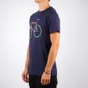 Stockholm T-shirt Color Bike Navy