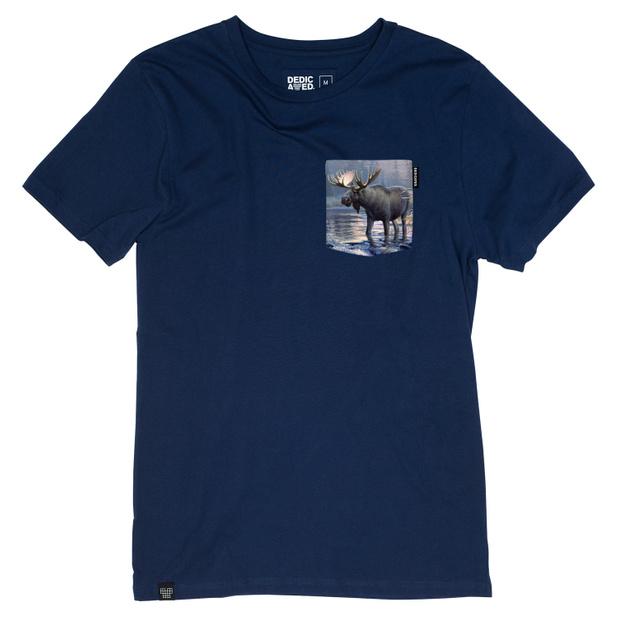Stockholm T-shirt Pocket Moose