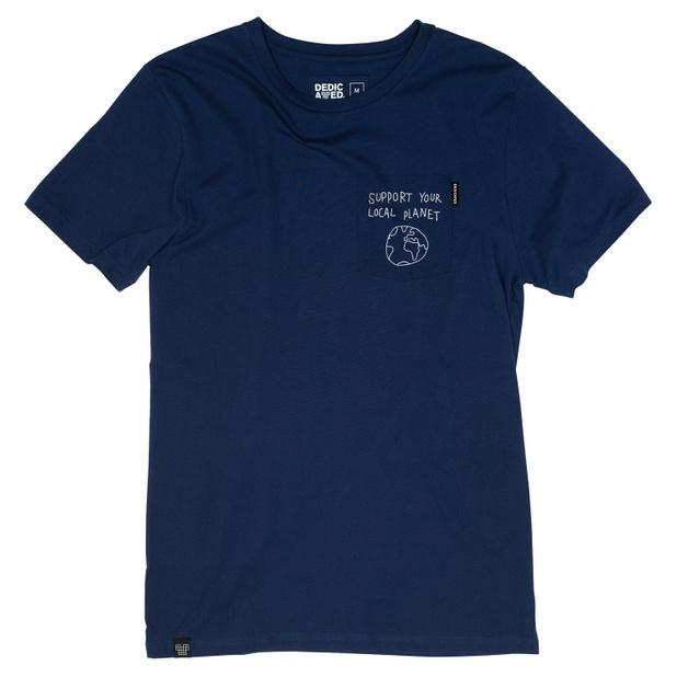 Stockholm T-shirt Pocket Local Planet