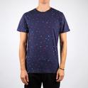 Stockholm T-shirt Blue Confetti
