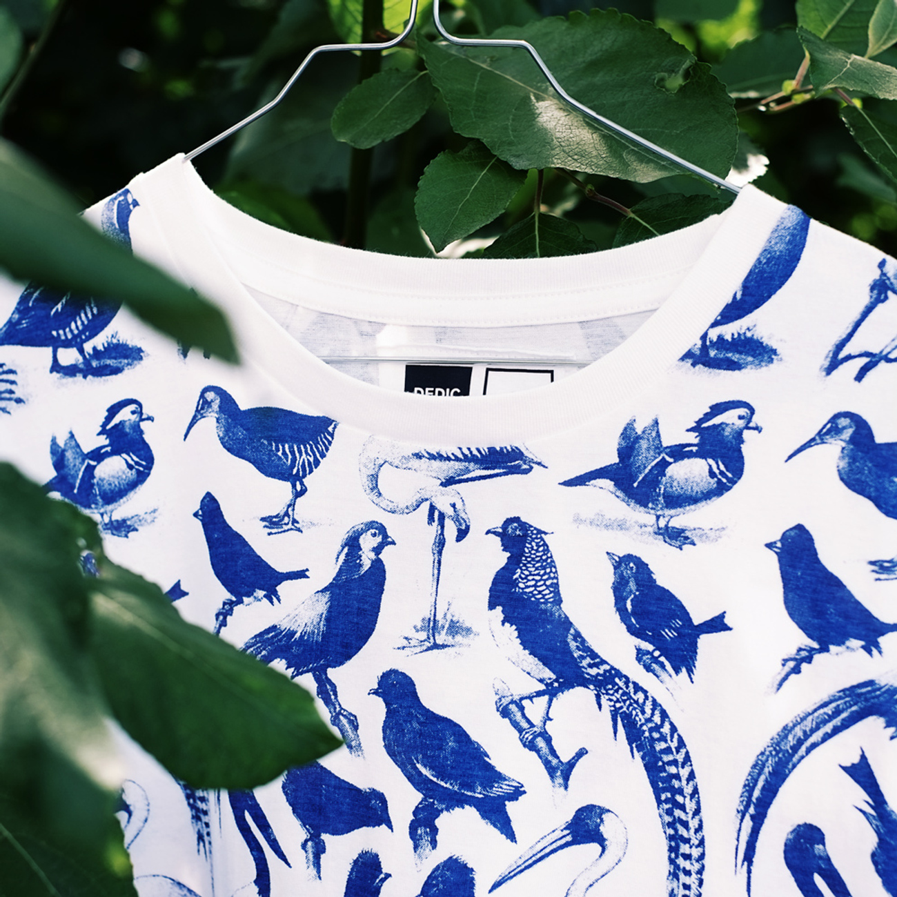 Stockholm T-shirt Blue Birds