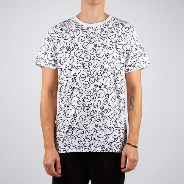 Stockholm T-shirt Peace Pattern