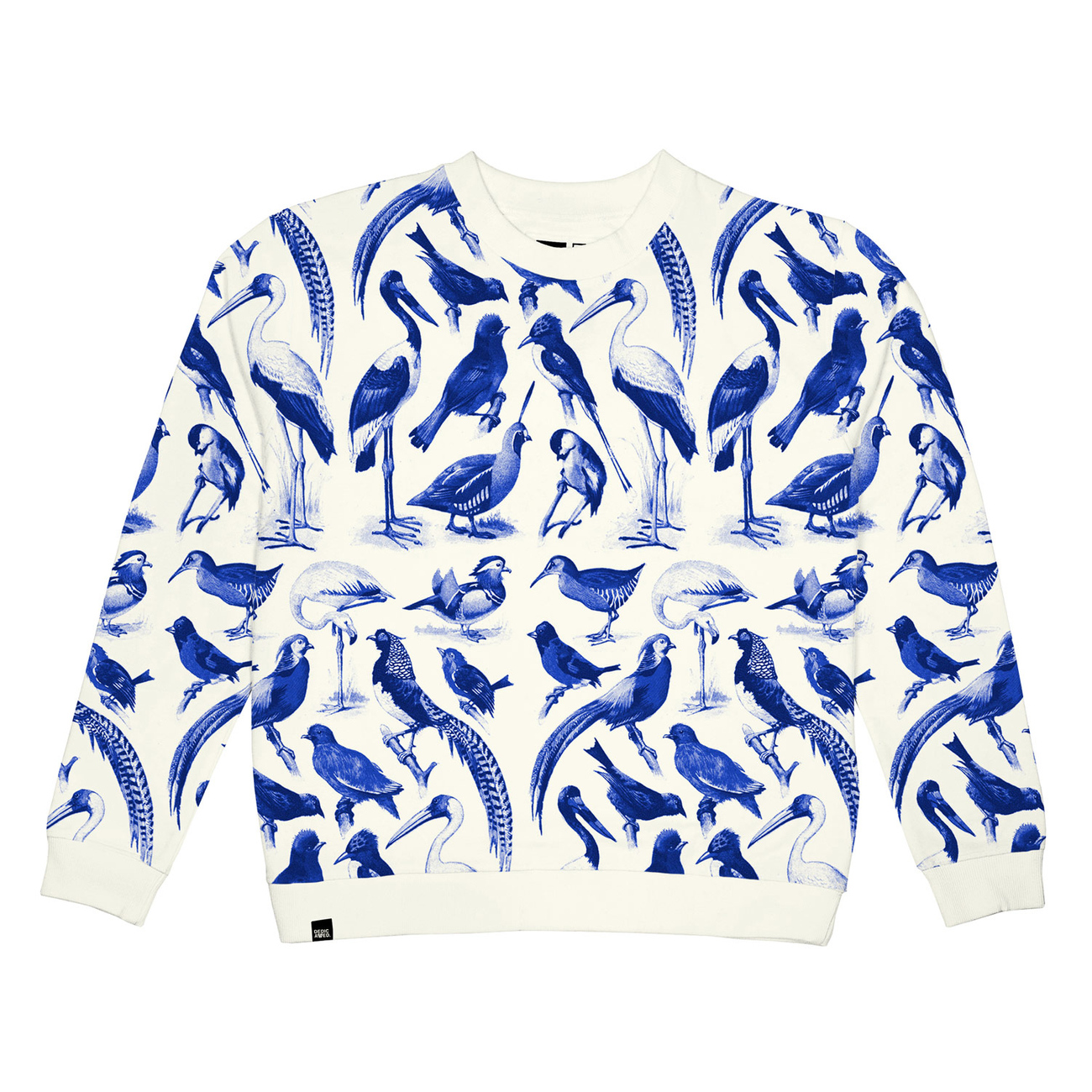 Ystad Sweatshirt Blue Birds