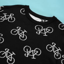 Sweater Mora Bike Pattern Black