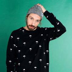Malmoe Sweatshirt Umbrellas Embroidery