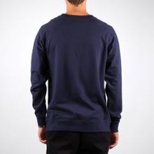 Malmoe Sweatshirt Retro Script Navy