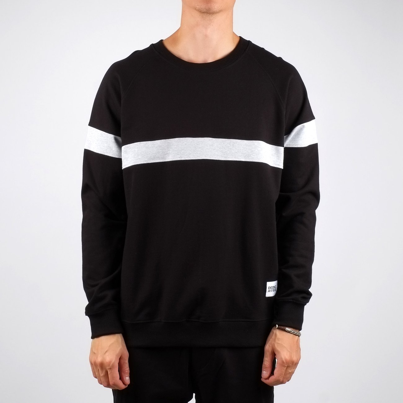 Sweatshirt Malmoe Stripe Black